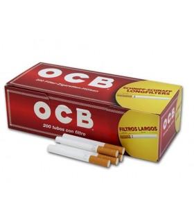 Tubi OCB rossi (Con Filtro più lungo) da 200 conf. 200 pz.