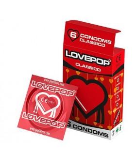 LOVEPOP 6 pz. Classico conf. da 24 scatoline