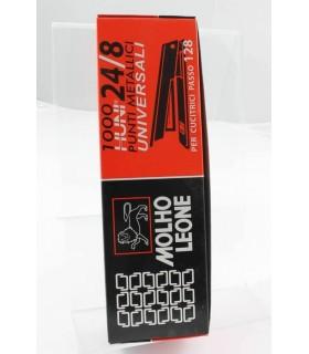 Punti per Cucitrice Leone 24/8 conf. 10 scatole da 1000 punti
