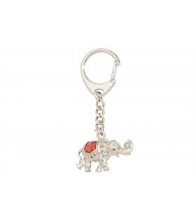 Portachiavi Predan Elefante Smaltato in metallo