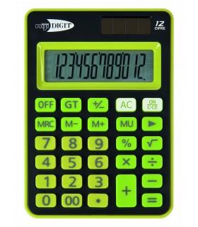 Calcolatrice Lebez Elettronica 12 cifre mis.12x8.5 cm