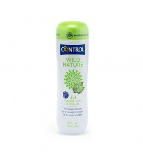 Control Massage Gel Wild Nature 3in1 200 ml