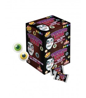 GOMME ZED CANDY TERROR EYES GUSTO FRAGOLA CONF. 200 PZ.