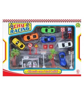 Playset Auto City e Accessori Mazzeo Giochi