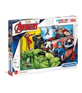 Puzzle Supercolor Clementoni 104 pz. Marvel Avengers