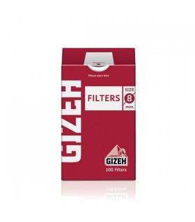 Filtri Gizeh Regular 8mm conf. 10 pz. astucci da 100 filtri