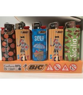 Accendino Bic Mini Sicilia conf. da 50 pz. colori assortiti