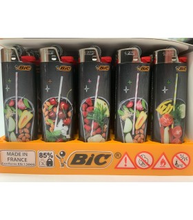Accendino Bic Maxi Fantasia Fruit Smoothie conf. 50 pz. fantasie assortite