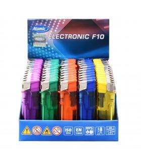 Accendino Elettronico Trasparente  conf. 50 pz. assortito con 5 fantasie