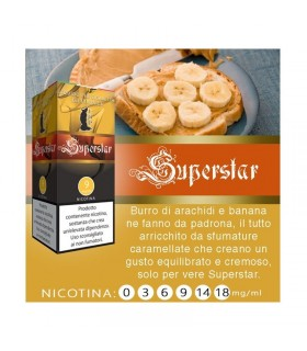 "Lop Liquido Pronto SUPERSTAR 10ml NICOTINA 3 ""ACCISA COMPRESA"""