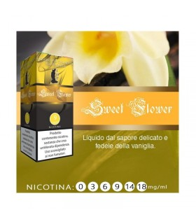 "Lop Liquido Pronto SWEET FLOWER 10ml NICOTINA 6 ""ACCISA COMPRESA"""
