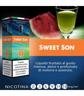 "Lop Liquido Pronto SWEET SON  10ml NICOTINA 3 ""ACCISA COMPRESA"""