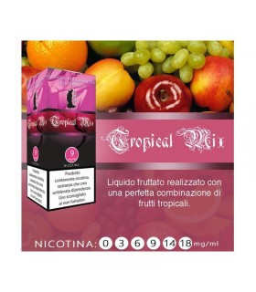 "Lop Liquido Pronto TROPICAL MIX 10ml NICOTINA 0 ""ACCISA COMPRESA"""