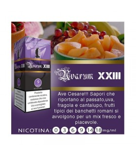 "Lop Liquido Pronto UVARUM XXII 10ml NICOTINA 3 ""ACCISA COMPRESA"""
