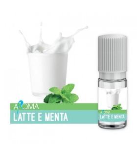 Aroma Liquido Naturale LATTE E MENTA da 12 ml