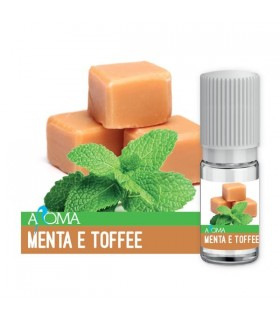 Aroma Liquido Naturale MENTA E TOFFEE da 10 ml