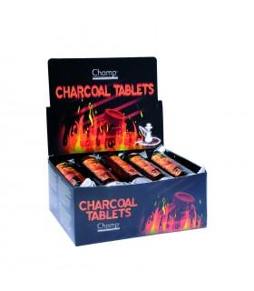 Carbone per Narghilè Champ Conf. 10 stecche