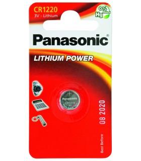 Pila a Bottone Panasonic CR1220 conf. 12 pz.