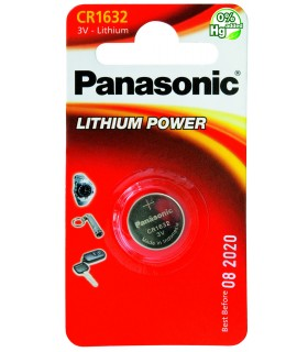 Pila a Bottone Panasonic CR1632 conf 10 pz.