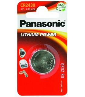 Pila a Bottone Panasonic CR2430 conf. 12 pz.
