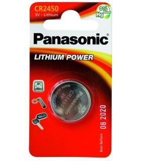 Pila a Bottone Panasonic CR2450 conf. 12 pz.