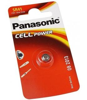 Pila a Bottone Panasonic SR41 conf. 12 pz.