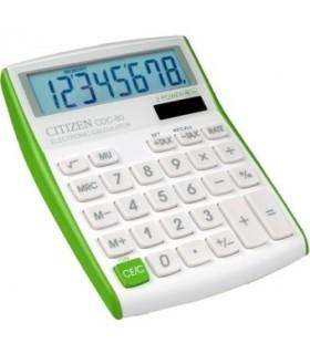 Calcolatrice Citizen da Scrivania CDC80 colore verde