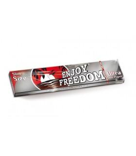 Cartina Enjoy Freedom King Size Slim Silver conf. da 50 pz.