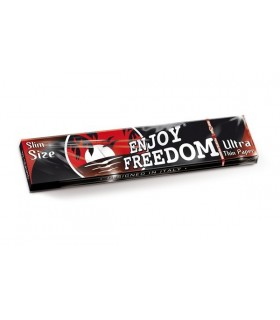 Cartina Enjoy Freedom Lunga Slim Dark conf. da 50 pz.