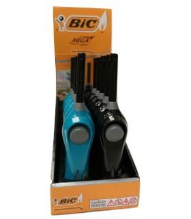 Accendigas Elettronico Bic Megalighter H.20 cm conf. 10 pz. assortito con 2 colori