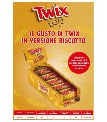 TWIX TOP GR.21 CONF. 20 PZ.