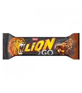 LION 2GO  CHOCOLATE 33g CONF. 24 PZ.
