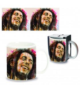 Tazza Mug in Ceramica Bob Marley Confezionata in scatola