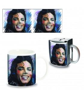 Tazza Mug in Ceramica Michael Jackson Confezionata in scatola