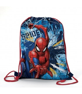 Zaino Piatto Spider Man in Poliestere