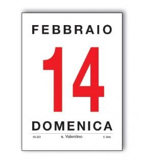 Blocco Commerciale mis.8.5x11.5 cm Dritto