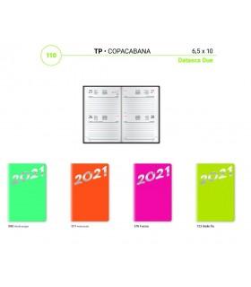 Agenda Bigiornaliera mis.6.5x10 Mod. Capocabana Disponibile in 4 colori