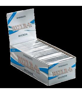 Cartina Rizla corta Micron conf. 50 libretti da 50 cartine