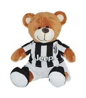Orsetto con Maglia F.c. Juventus  H. 24 cm