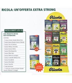 EXPO RICOLA MINTY 70 ASTUCCI + 10 OMAGGIO