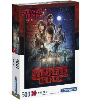 Puzzle Clementoni Collection 500 pz. Stranger Things