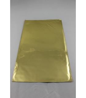 Buste Regalo Lucide in polipropilene mis.cm.16x25 colore Oro Conf. 50  pz.