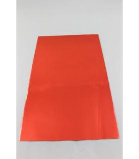 Buste Regalo Lucide in polipropilene mis.cm16x25 colore Rosso Conf. 50  pz