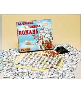 La Grande Tombola Romana da 48 Cartelle in Cartone