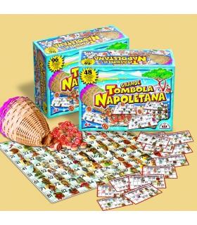 Grande Tombola Napoletana da 48 Cartelle in Cartone