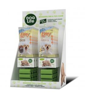 Expo da Banco Dog Life con Biscotti e Sacchetti per raccolta da 80 pz.
