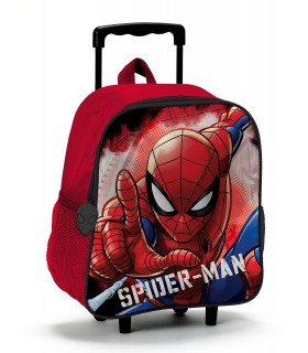 Zaino Trolley Spider Man in Poliestere