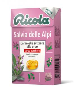 RICOLA SALVIA DELLE ALPI  SENZA ZUCCHERO ASTUCCIO IN CONF. DA 20 PZ.