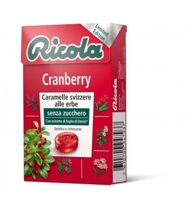 RICOLA CRANBERRY SENZA ZUCCHERO ASTUCCIO CONF. DA 10 PZ.