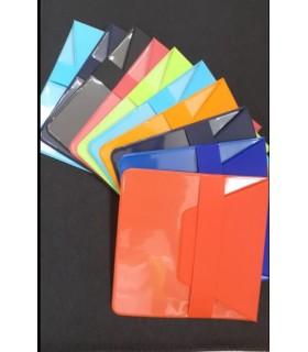 Custodia per Mascherine in PVC  F.to Chiuso 10x11.7 cm conf. 30 pz.colori assortiti